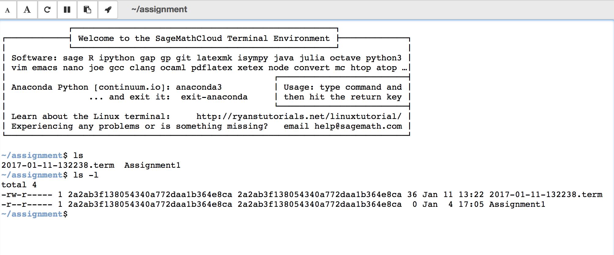 Collaboration — CoCalc Manual documentation